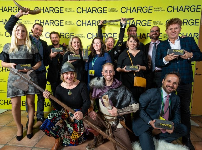 Winners of the Charge awards 2019